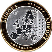 Token - European Currency (Finland) – reverse