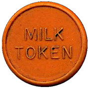 Milk Token - Leiston CSL (Suffolk) – reverse