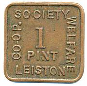 1 Pint Welfare - Leiston CS – obverse