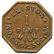 1 Pint Milk - Leiston Ind CSL – obverse