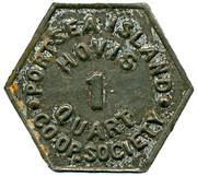Hovis 1 Quart - Portsea Island CS – reverse