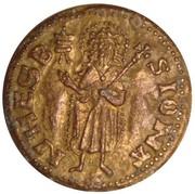 Token - Collection Panzani (Florin de Jean XXII, pape en Avignon 1316-1334) – obverse