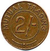 2 Shillings - South Suburban CSL (Surrey) – reverse