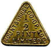 ½ Pint - Mountsorrel CSL – obverse