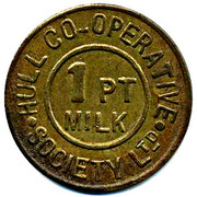 1 Pint Milk - Hull CSL – obverse