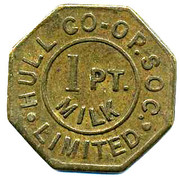 1 Pint Milk - Hull CSL (Yorkshire) – obverse