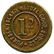 1 Penny - Portsea Island Mutual CSL – reverse