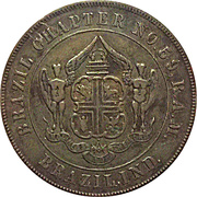 1 Penny - Brazil Ind. Chapter No. 59 – obverse