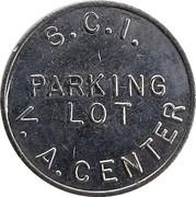 Parking Token - S. C. I. (V. A. Center) – reverse