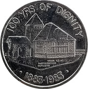 1 Dollar - Corporation of the Town of Essex – reverse