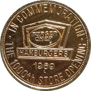 5 Cents - Burger Chef (The 1000th Store Opening) – obverse