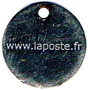 Shopping Cart Token - La Poste – reverse