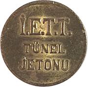 Token - İ.E.T.T. Tünel (Istanbul; 19 mm) – reverse