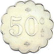 50 Centimes - Enghien (Val d'Oise) – reverse