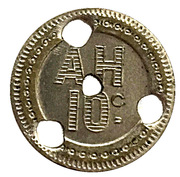 10 Centimes (A H) – obverse