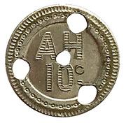 10 Centimes (A H) – reverse