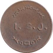 Token - I.S.J. (19mm) – obverse