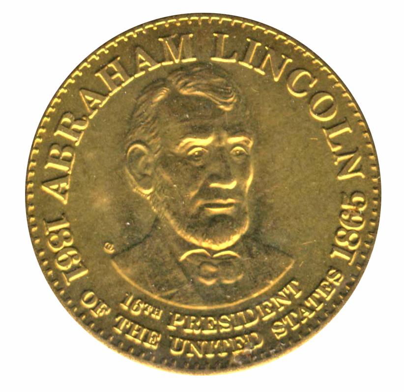 Abraham Lincoln Token Tokens Numista