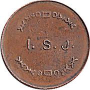 Token - I.S.J. (22mm) – obverse