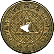 Token - Inter-City Bus Limited (Jacques Cartier, Quebec) – obverse
