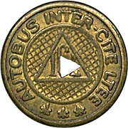 Token - Inter-City Bus Limited (Jacques Cartier, Quebec) – reverse