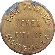 Free Parking Token - City of Rockingham, North Carolina – obverse
