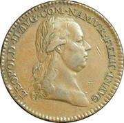 Token - Leopold II County of Namur – obverse