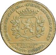 Token - Leopold II County of Namur – reverse