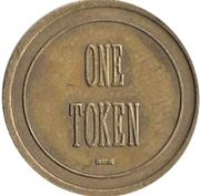 1 Token - Regional Transit – reverse