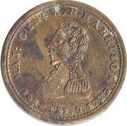 Campaign token/medalet (William Henry Harrison) – obverse