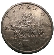 So-Called Dollar - Kansas Statehood Centennial – obverse