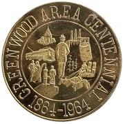 ½ Dollar - Greenwood Area Centennial (Greenwood, Indiana) – obverse