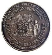 ½ Dollar -Lasalle County 50th Anniversary (Ottawa, Illinois) – obverse