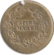 Spiel Marke (Napoleon) – reverse