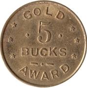 5 Bucks - Gold Award (5112) – obverse