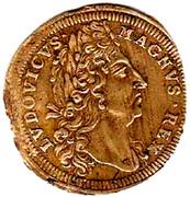 Counter Token - Louis XIV (Nuremberg) – obverse
