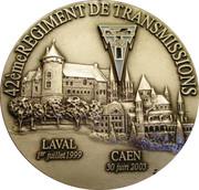Medal - 42ème Régiment de Transmissions – obverse