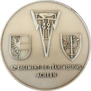 Medal - 42ème Régiment de Transmissions Achern (Allemagne) – obverse