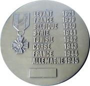 Medal - 43ème Régiment de Transmissions – reverse
