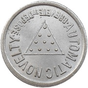Token - Novelty Automatic (Lille) – reverse