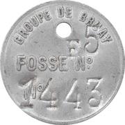 Token - Mines de Bruay-sur-Escaut – obverse