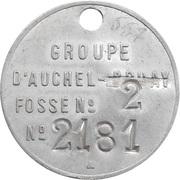 Token - Mines d'Auchel – obverse