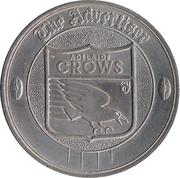 Commemorative Medal - The Advertiser (Adelaide Crows) – reverse