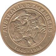 Freedom Medallion - Australia Remembers – obverse
