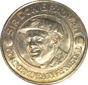 Commemorative Medal - The Advertiser (Sir Donald Bradman) – obverse