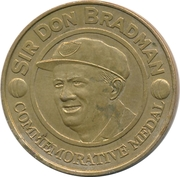 Commemorative Medal - Herald Sun Sunday (Sir Donald Bradman) – obverse