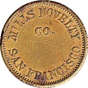 5 Cents - Mills Novelty (San Francisco) – obverse