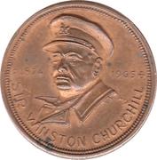 Medal - Winston Churchill – obverse