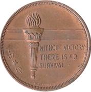 Medal - Winston Churchill – reverse