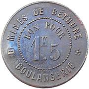 1.5 Kilo - Boulangerie (Mines de Béthune) – obverse